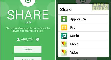 Share link – file transfer