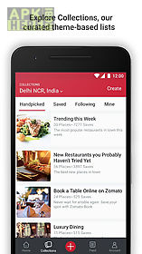 zomato - restaurant finder