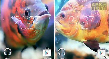 Aquarium 3d. video wallpaper