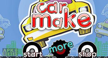 Car builder-car games