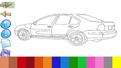 Car paint book for Android free download at Apk Here store ApkHere