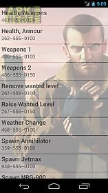 <b>Cheats</b> for <b>gta 4</b> for Android free download at Apk Here store ...