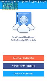 cloud space of cm security