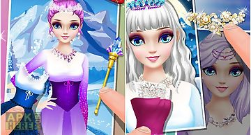 Icy princess dress up