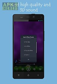 mp3 player 3d android