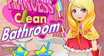Princess clean bathroom