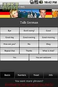 talk german (free)