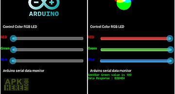 Arduino usb control rgb led
