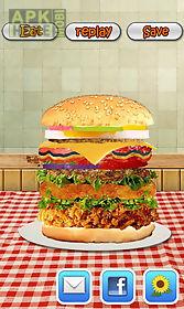 burger maker-cooking game