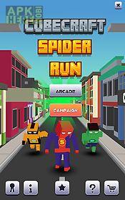 cube craft spider run
