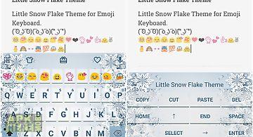 Little snow flake keyboard