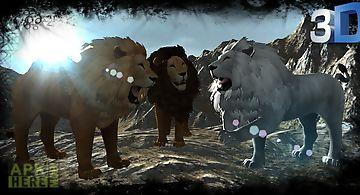 Real lion simulator