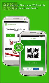 social shareup for wechat