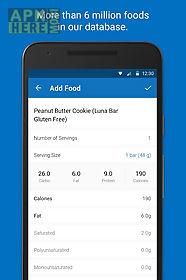 calorie counter - myfitnesspal