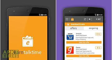 Earn talktime -recharge & more