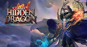 Line. hidden dragon: occult fire..