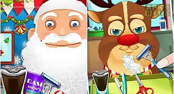 Beard salon for santa claus