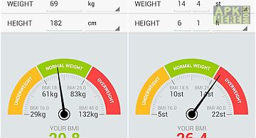 Bmi weight calculator