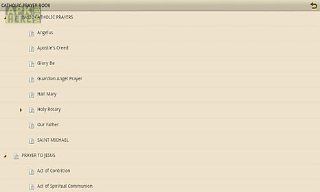 Catholic prayer book for Android free download at Apk Here