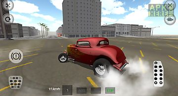 Fire hot rod racer