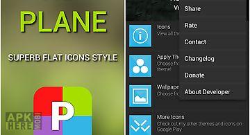 Hd plane free - icon pack