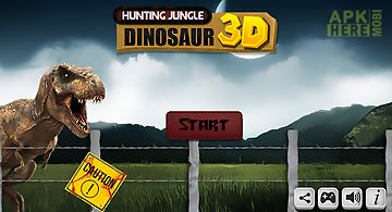 Hunting jungle dinosaur 3d