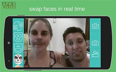 Live video face swap for Android free download at Apk Here store