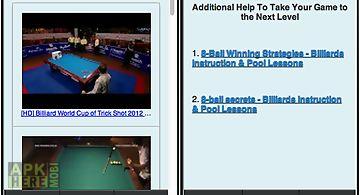 Pool billiards for beginners