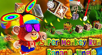 Super monkey run endless dash