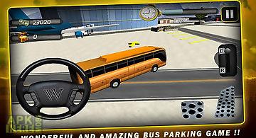 Airport bus parkingsimulator