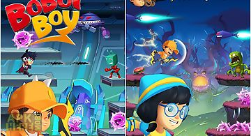 Boboiboy galaxy run: fight alien..