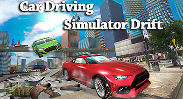 Car driving simulator drift