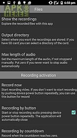 Hidden recorder for Android free download at Apk Here store