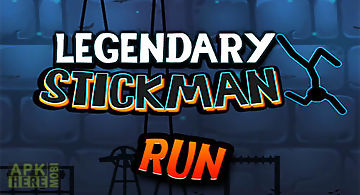 Legendary stickman run