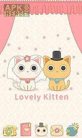 lovely kitten go launchertheme