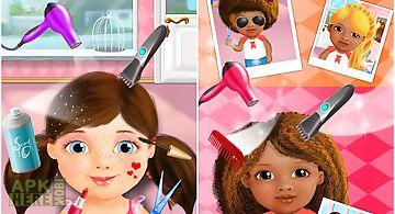 Sweet baby girl beauty salon