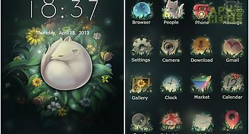 The fox go launcher theme
