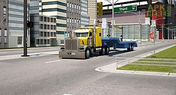 Tractor farmer transporter