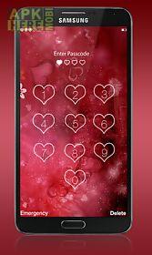 love passcode lock screen