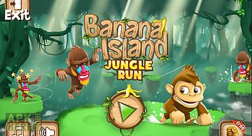 Banana island – jungle run