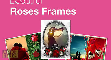 Beautiful roses photo frames