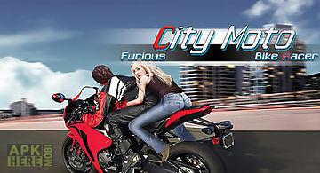 Furious city мoto bike racer