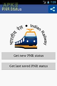 pnr status app indian railway