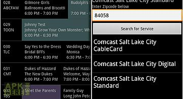 Tv listings on comcast
