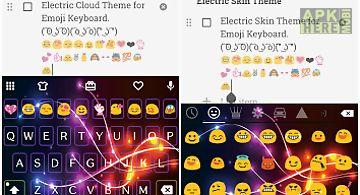 Electric emoji keyboard