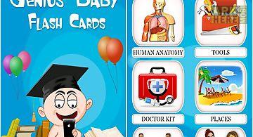 Genius baby flashcards 4 kids
