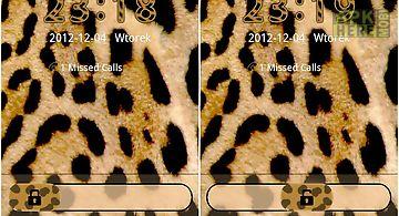 Leopard theme for go locker