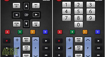 Tv(samsung) touchpad remote for Android free download at Apk