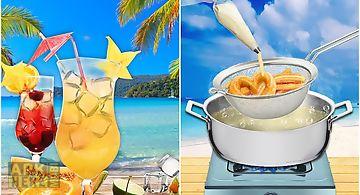 Summer party! beach food maker