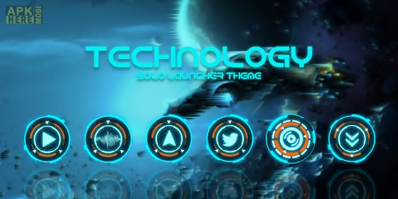 technology - solo theme
